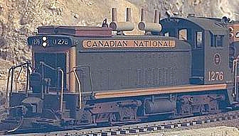 #1276 HO scale CN SW1200 switcher (class GR12-k)