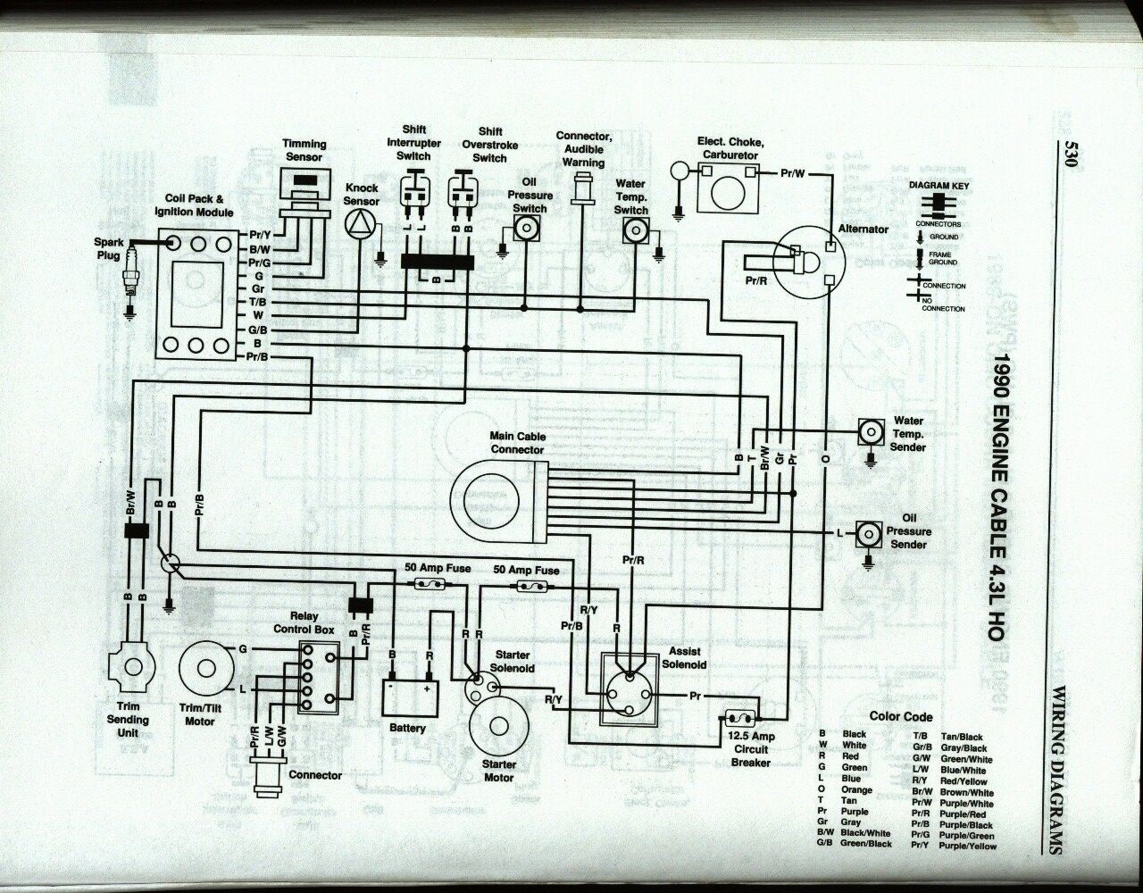 Wiring Diagram For Omc Cobra Auto Electrical 2003 Fuse 4 3l Ho Problems Page 3