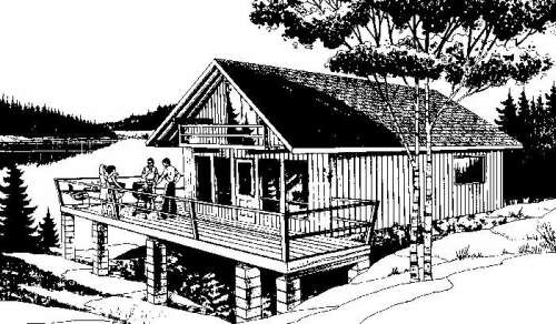 Almost free cottage plans for Cost to build 1200 sq ft cabin