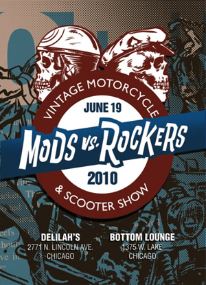 mods and rockers. Mods vs. Rockers Chicago 2010