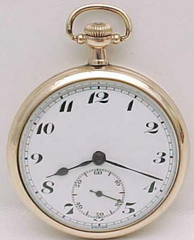 Bulova pocketwatch dial