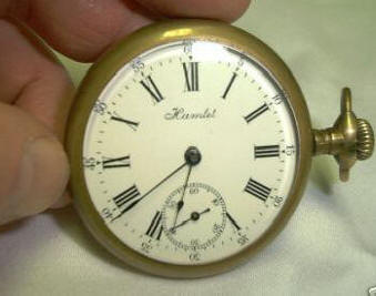 usa 11 jewel pocket watch in