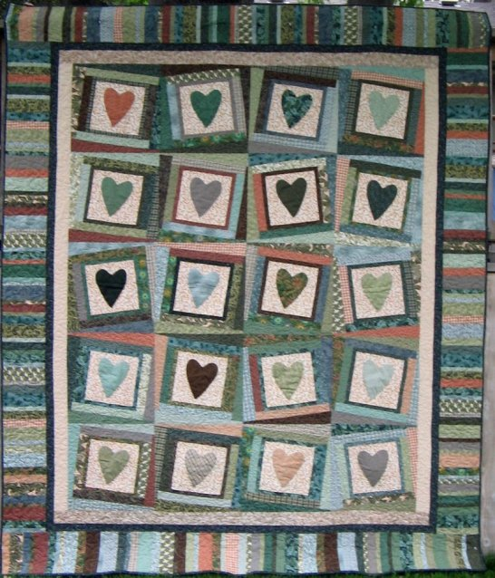Sharty garden shed quilting for Garden shed quilting