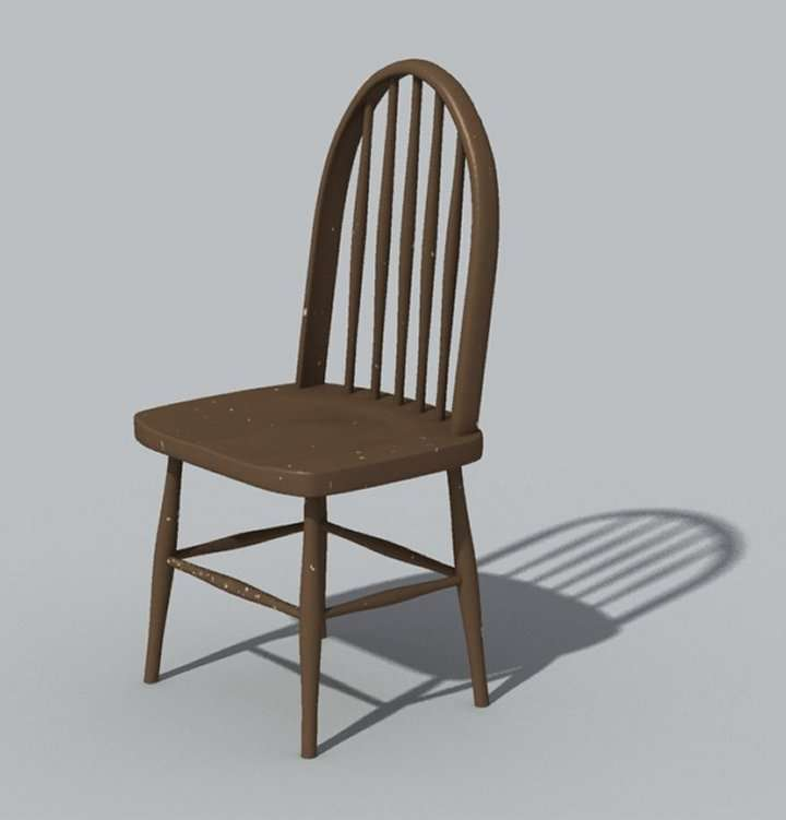 Images chair wood simple for Wood chair images