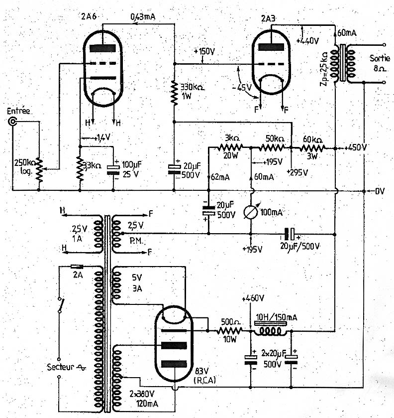 2A3 schematics further 811schematics likewise Viewtopic additionally 1961 as well SE  LIFIERS. on 807 tube amplifier